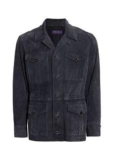 Ralph Lauren Merton 4-Pocket Suede Jacket
