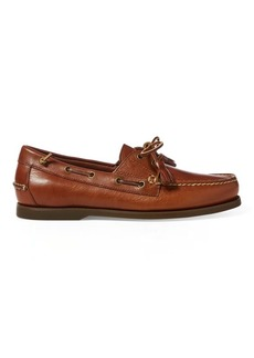 Ralph Lauren Merton Leather Boat Shoe