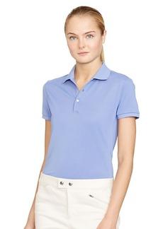 Ralph Lauren Tailored Mesh-Panel Polo Shirt
