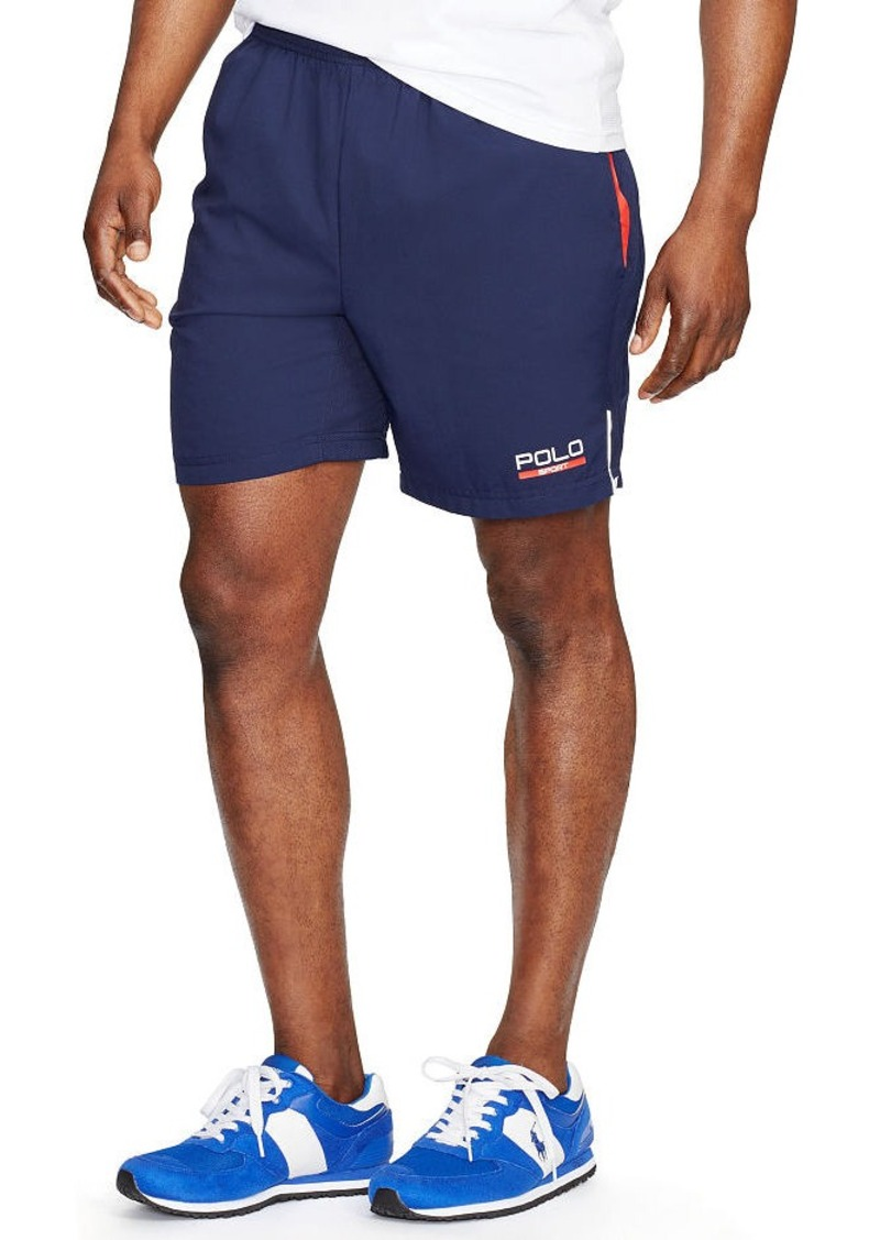 Ralph Lauren Mesh-Paneled Athletic Short