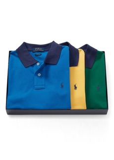 Ralph Lauren Short-Sleeve Polo 3-Piece Set