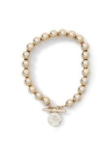 Ralph Lauren Metal Bead Bracelet