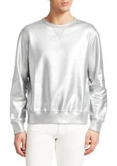 Ralph Lauren Metallic Cotton Sweatshirt