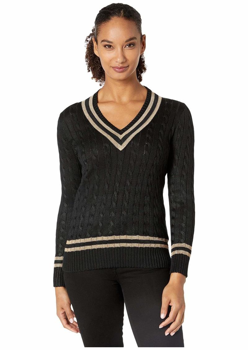 Ralph Lauren Metallic Cricket Sweater