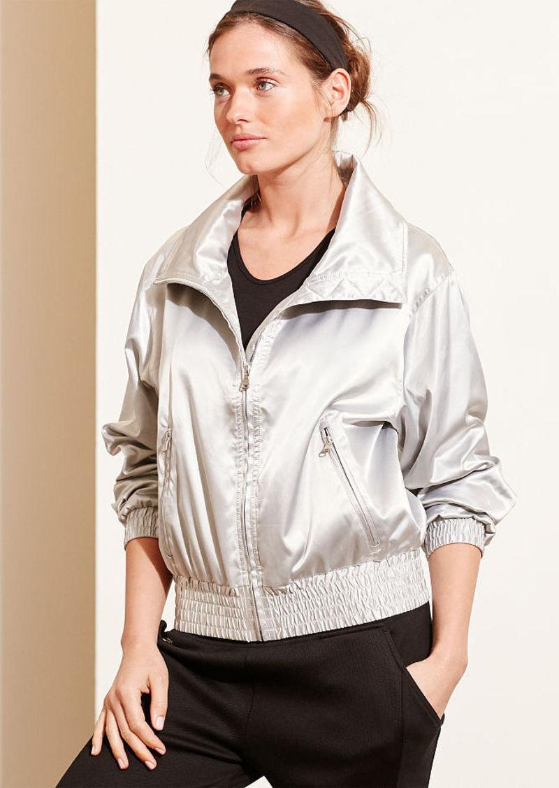 Ralph Lauren Metallic Funnelneck Jacket