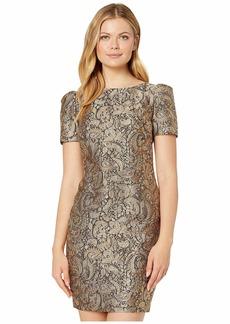 Ralph Lauren Metallic Jacquard Dress