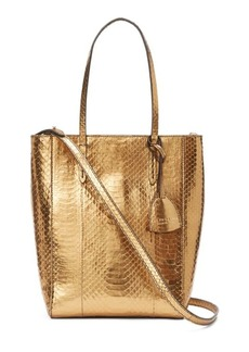 Ralph Lauren Metallic Mini Modern Tote