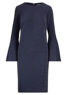 Ralph Lauren Metallic Ponte Shift Dress