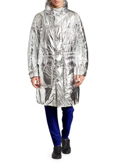Ralph Lauren Metallic Puffer Coat