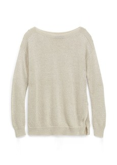Ralph Lauren Metallic Ribbed Sweater