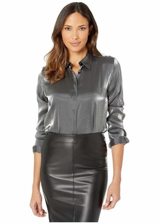 Ralph Lauren Metallic Satin Shirt