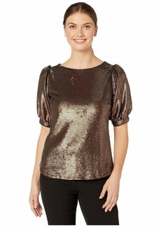 Ralph Lauren Metallic Sequined Shirt