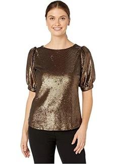 Ralph Lauren Metallic Sequined Shirt
