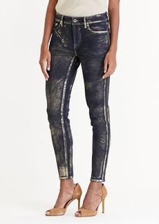 Metallic Skinny Jean