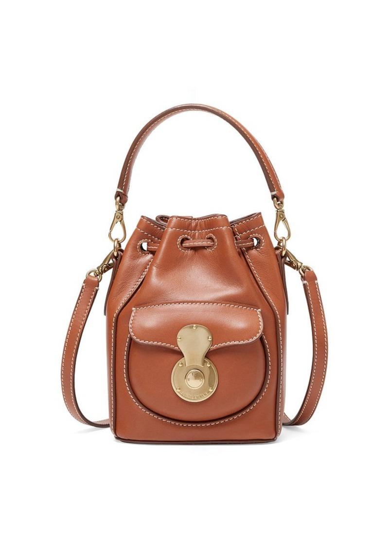 6365104801 Ralph Lauren Micro Drawstring Ricky Bag