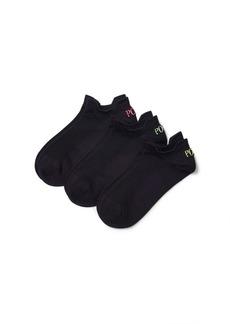 Ralph Lauren Microfiber Sport Sock 3-Pack
