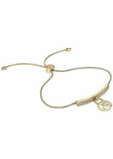 Ralph Lauren Micropave Padlock Slider Bracelet