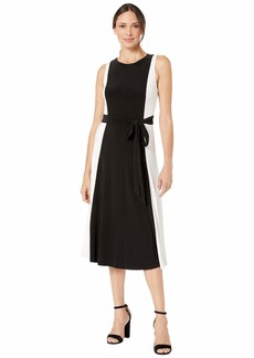 Ralph Lauren Mid Weight Matte Jersey Murila Sleeveless Day Dress