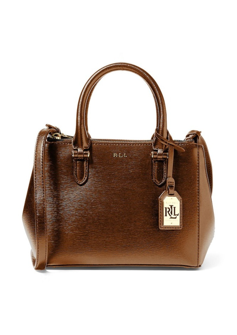 Ralph Lauren Mini Double-Zip Satchel