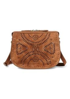 Ralph Lauren Suede Mini Crossbody Bag
