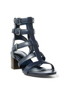 Ralph Lauren Miri Cage Leather Sandal