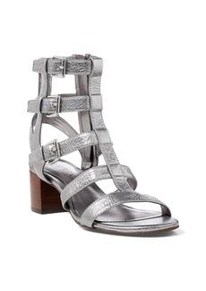 Ralph Lauren Miri Metallic Leather Sandal