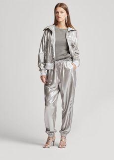 Ralph Lauren Mitchell Metallic Foil Pant