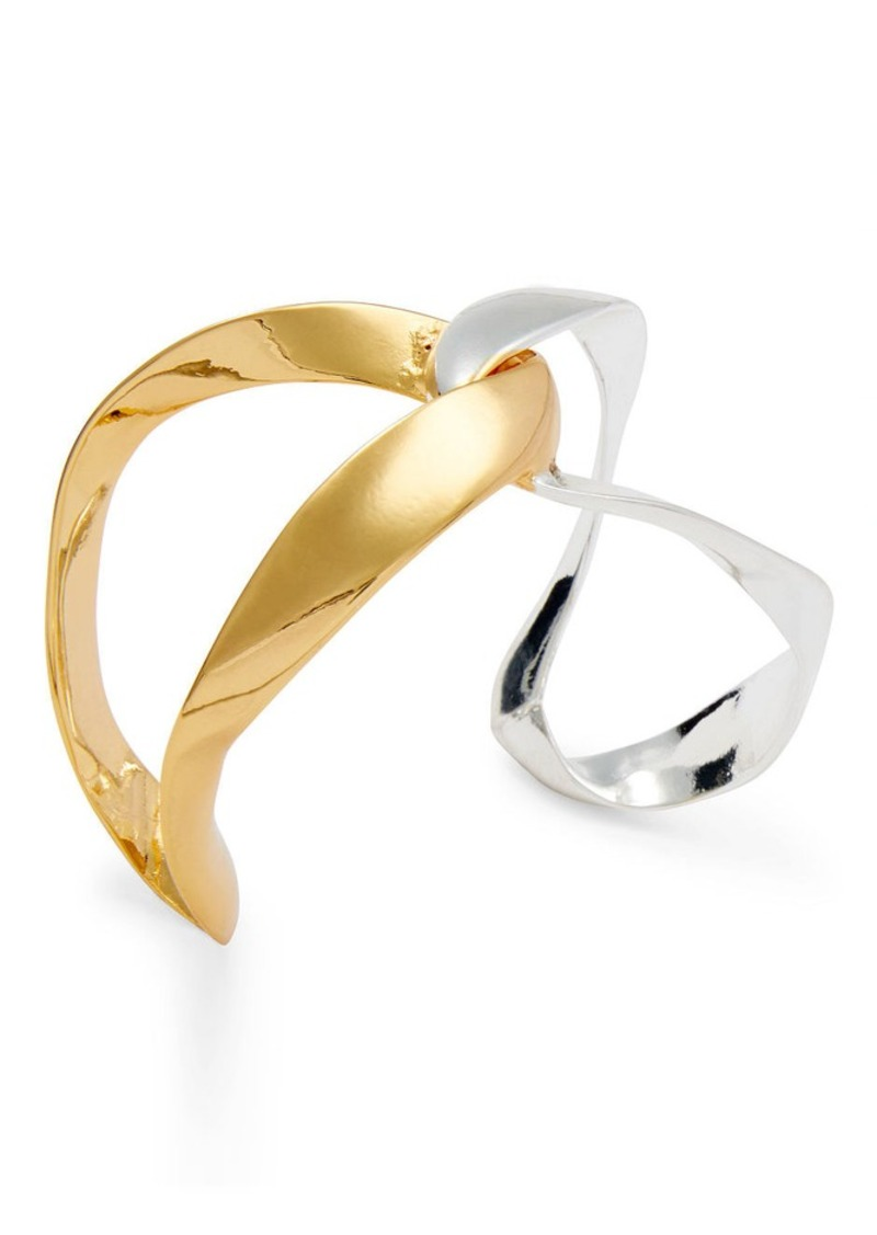 Ralph Lauren Mixed Metal Cuff