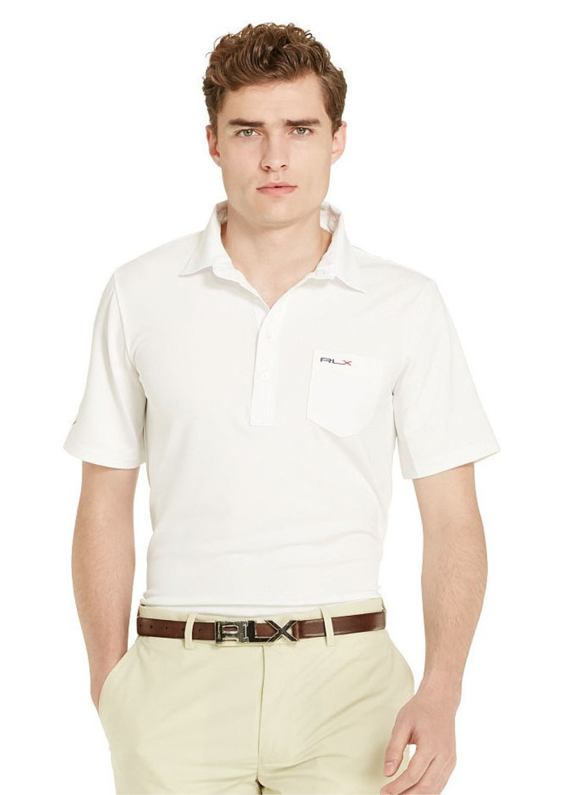 Ralph Lauren Moisture-Wicking Pocket Polo