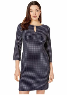 Ralph Lauren Monahan Darby Dot Dress