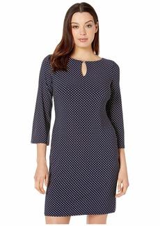 Ralph Lauren Monahan Darby Dot Dress