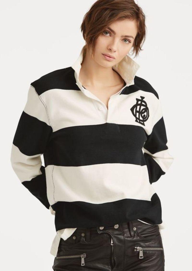Ralph Lauren Monogram Cotton Rugby Shirt