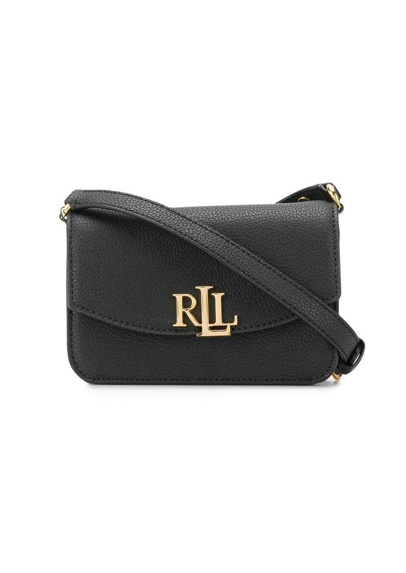 Ralph Lauren monogram plaque crossbody bag