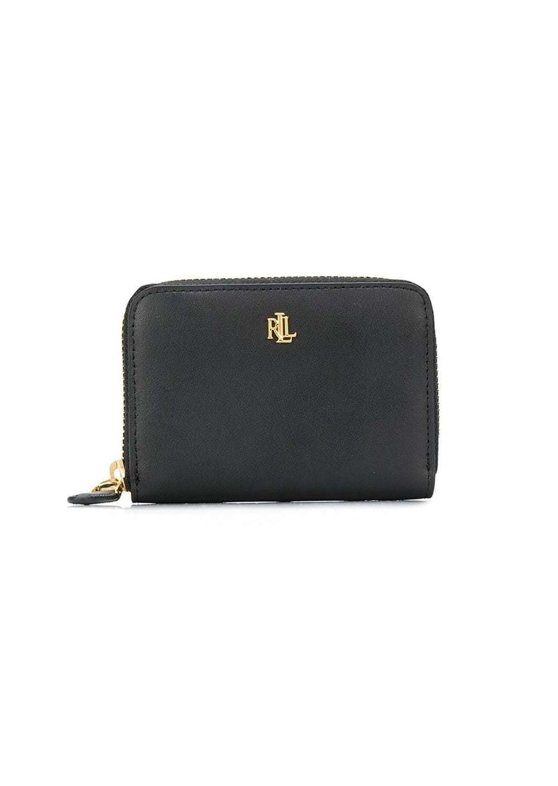 Ralph Lauren monogram plaque wallet