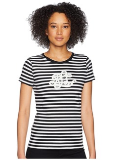 Ralph Lauren Monogram Striped T-Shirt