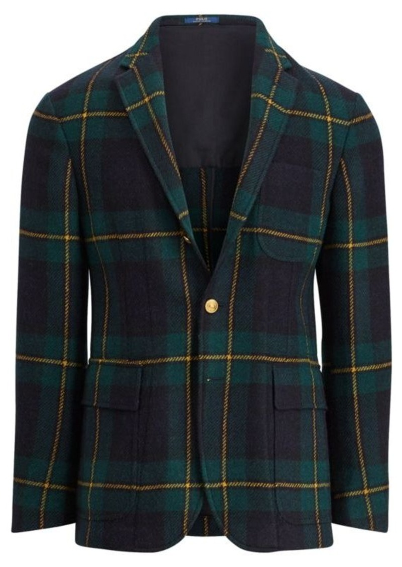 Ralph Lauren Morgan Black Watch Sport Coat  8f09248356dc0