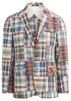 Ralph Lauren Morgan Madras Sport Coat
