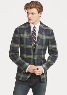 Ralph Lauren Morgan Tartan Linen Sport Coat