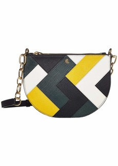 Ralph Lauren Multi Patchwork Sutton 22 Crossbody
