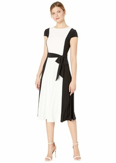 Ralph Lauren Murila Cap Sleeve Day Dress