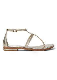 Ralph Lauren Nalaine Leather Sandal