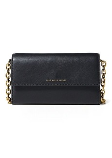 Ralph Lauren Nappa Leather Chain Wallet