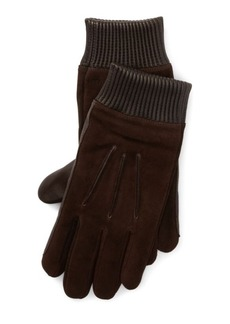 Ralph Lauren Nappa Leather-Suede Gloves