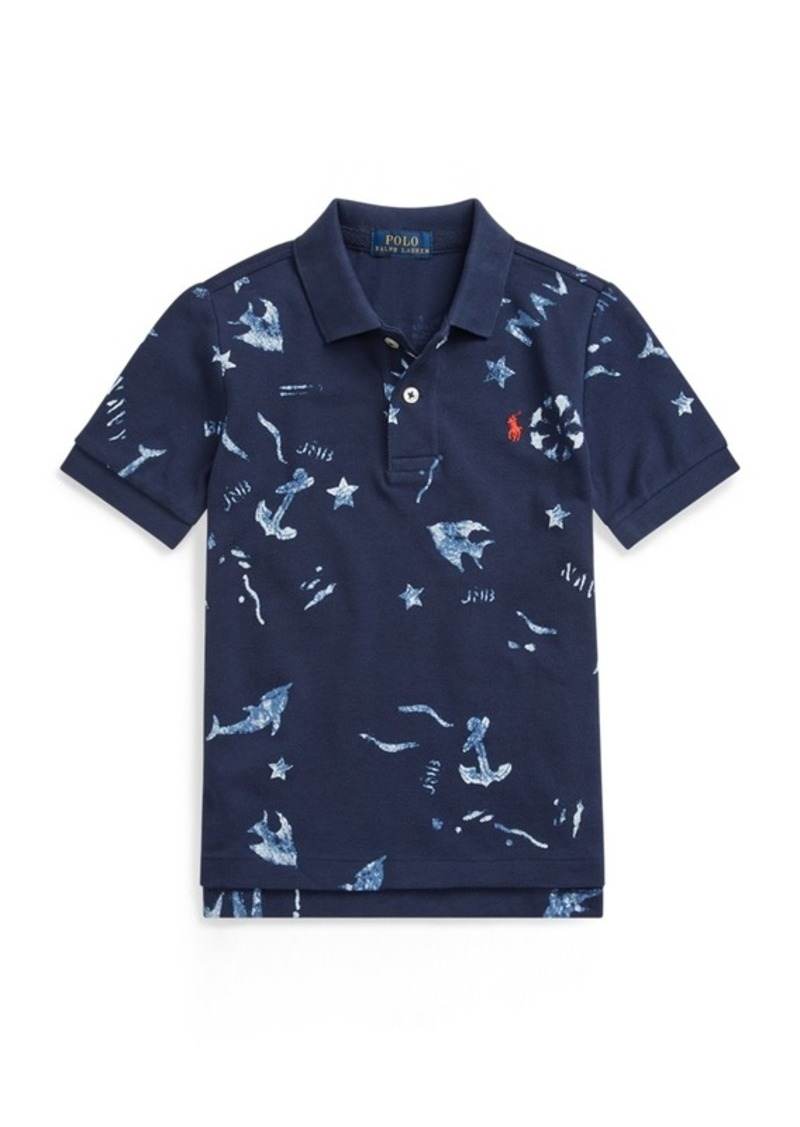 Ralph Lauren Nautical Cotton Mesh Polo