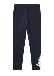 Ralph Lauren Nautical Embroidered Legging