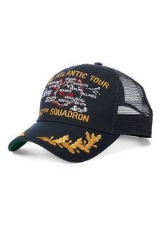 Ralph Lauren Naval Trucker Cap