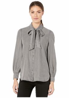 Ralph Lauren Necktie Buttoned Blouse