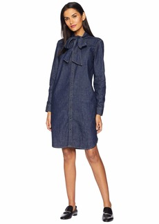 Ralph Lauren Necktie Denim Dress