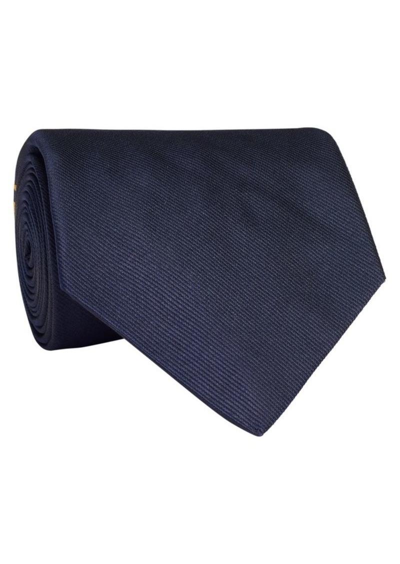 Ralph Lauren Newport Crossed Flag Silk Tie