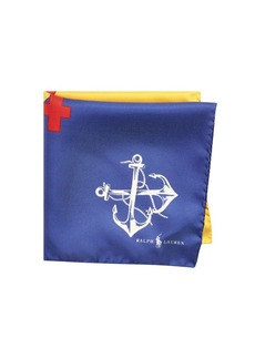 Ralph Lauren Newport Silk Number 4 Pocket Square
